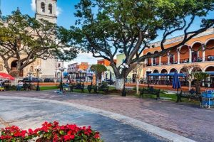 Mexican town square